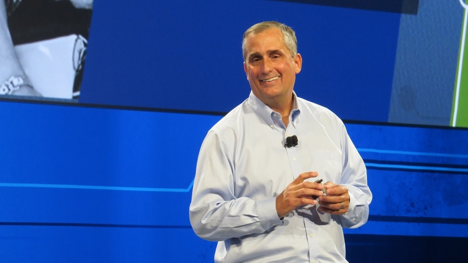 Intels CEO Brian Krzanich hielt die Keynote auf dem IDF 2014.