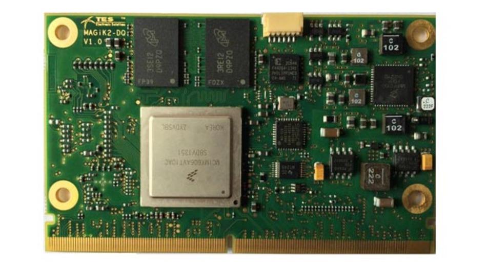 i.MX6-Modul im SMARC-Formfaktor.