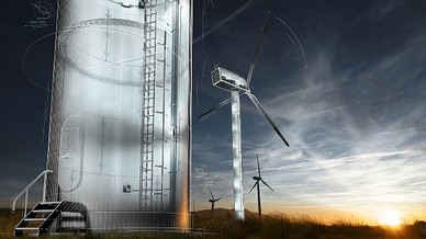 Das LED-System »FieldPower Wind Energy« von Weidmüller für Windenergieanlagen