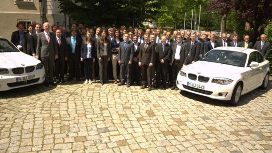 "Abschluss des Forschungsprojekt ""EFA 2014"" unter Konsortialführung der BMW Group."