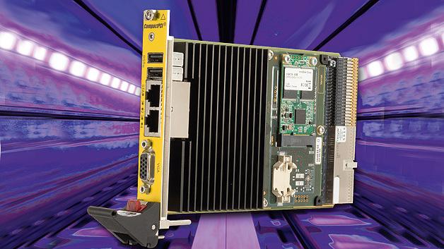 Als Kernstück einer SIL-4-zertifizierbaren Systemplattform zur Zugsteuerung und Zugsicherung liefert men den zweifach redundanten Single-Board-Computer »F75P«.