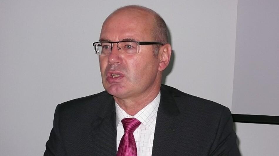 Für den geringfügigen Ausstellerrückgang bei wachsender Ausstellungsfläche hatte Johann Thoma, Geschäftsführer der Mesago Messemanagement GmbH, auf der Eröffnungspressekonferenz eine plausible Erklärung.