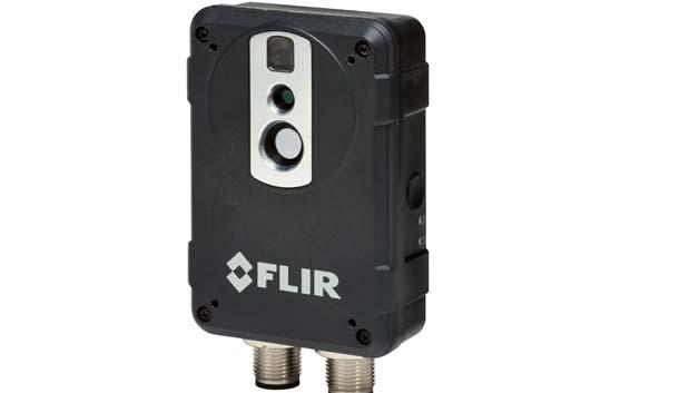 Der Wärmebild-Multisensor AX8 kombiniert eine Wärmebild-Sensorik mit einer Kamera im sichtbaren Lichtspektrum.