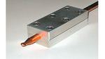 Die Coolpipe kann über Klemmverbindungen mit den Anschlussflächen für Wärmeaufnahme und Wärmeabfuhr verbunden werden