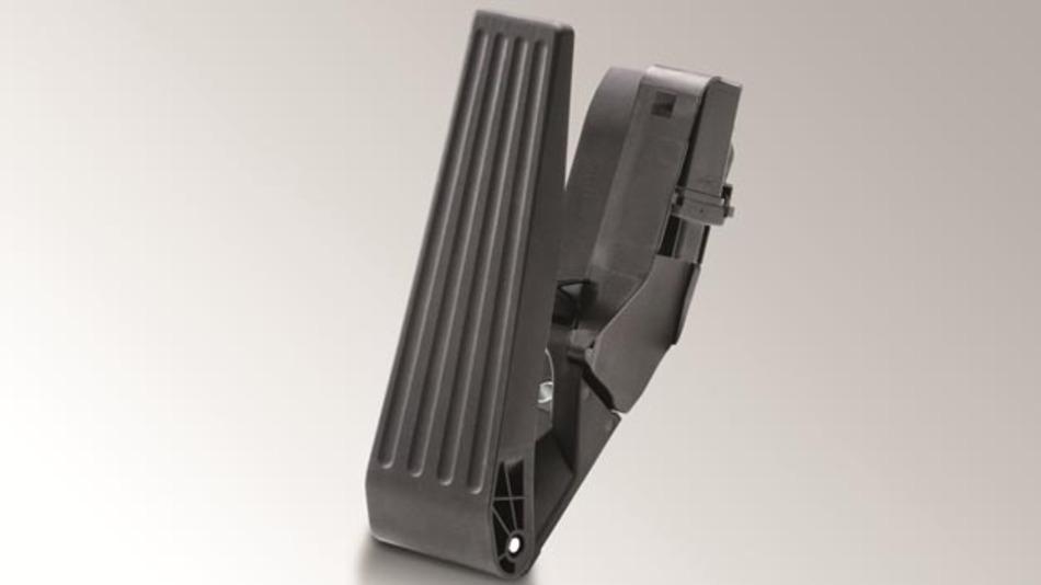 Stehendes Fahrpedal auf Basis der Hella Cipos-Technologie.
