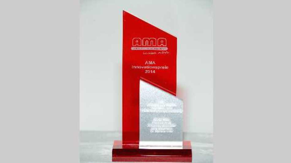 Der AMA Innovationspreis 2014 ging an das Tilted Wave Interferometer (TWI) zur schnellen und flexiblen Asphären- und Freiformflächenvermessung. Eine Gemeinschaftsentwicklung von Goran Baer, Christof Pruss, Johannes Schindler (Institut für Technische Optik, Universität Stuttgart) und Jens Siepmann, Dr. Markus Lotz (Mahr GmbH, Jena).