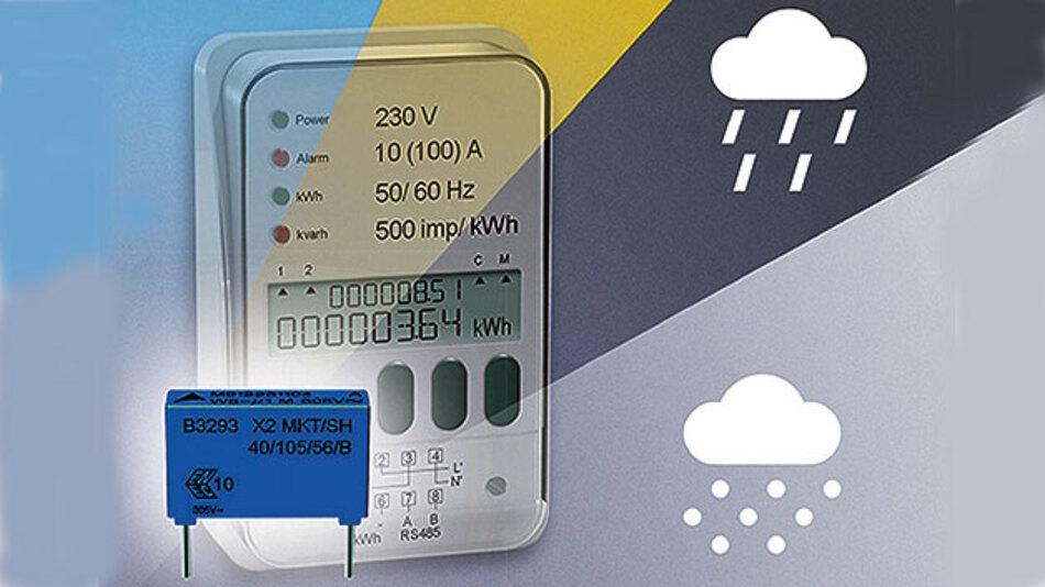 X2-Folien-Kondensatoren helfen den intelligenten Zählern