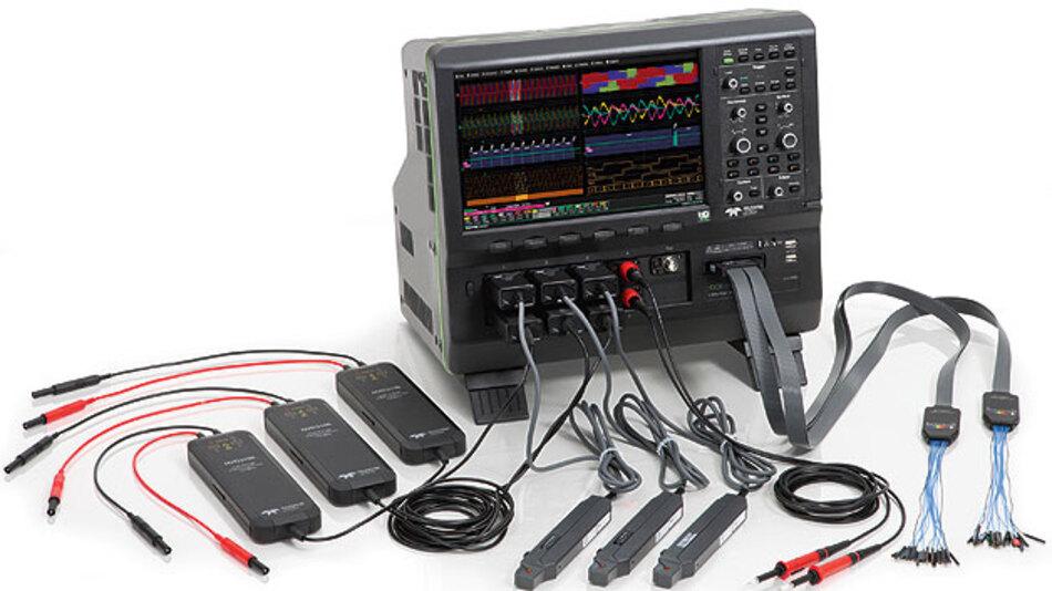 Bild 1. Mehr sehen: mit acht Kanälen, 12-bit-Amplituden-Auflösung und MSO-Fähigkeit können die neuen Labor-Oszilloskope der HDO8000-Serie aufwarten.