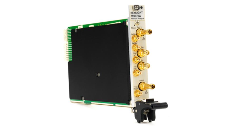 Die neue Familie von PXI-Vektornetzwerkanalysatoren von Keysight Technologies besticht durch einen großen Frequenzbereich und dem geringen Platzanspruch von nur einem PXI-Steckplatz.