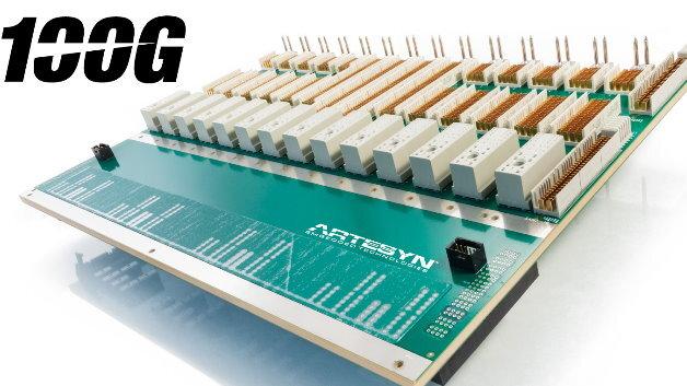 Die »QuadStar«-Backplane-Architektur von Artesyn ermöglicht jedem ATCA-Blade vier unabhängige Netzwerke bereitzustellen.