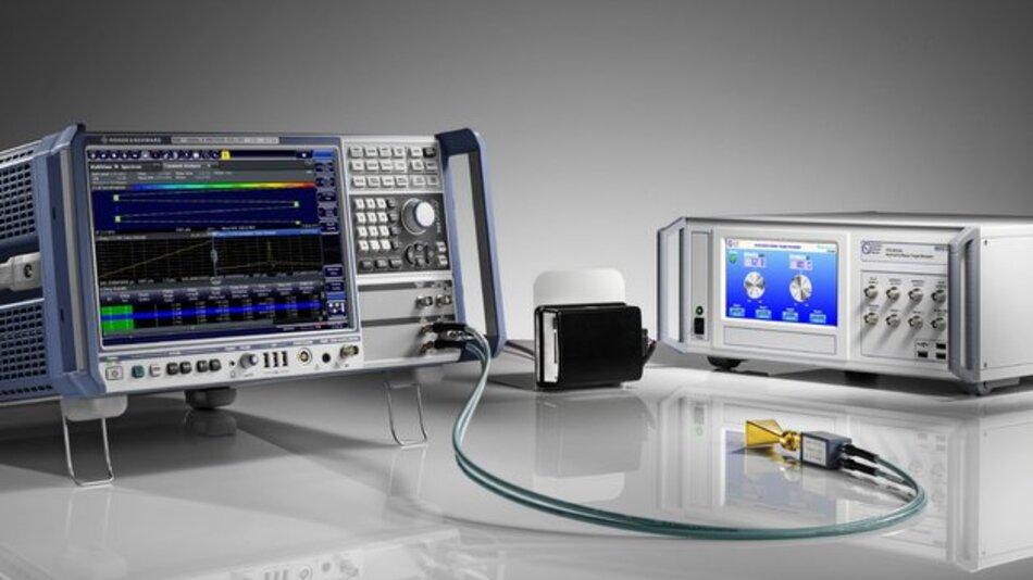 Alle wichtigen Parameter des Radarsensors können Anwender beim kombinierten Einsatz des Automotive Radar Target Simulator ARTS und des R&S FSW Signal- und Spektrumanalysators gleichzeitig mit einer Messung erfassen.