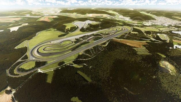 Das geplante Prüf- und Technologiezentrum von Daimler in Immendingen.