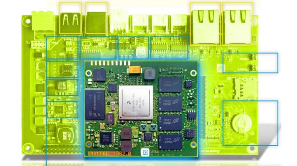 Standard-Board mit variabler Ausgestaltung: So entsteht bei Phytec ein kundenspezifisches Produkt.