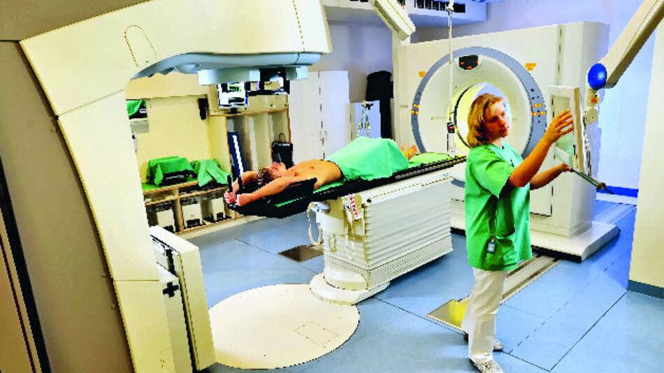 Protonenstrahler für die Krebsbekämpfung