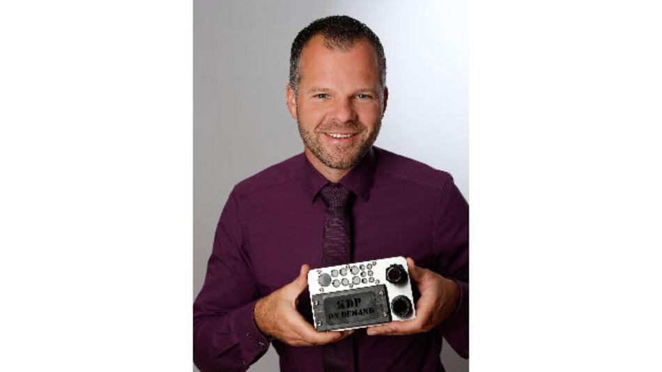 Michael Braun ist Leiter der Produktlinie Kabeldurchführungs- und Kabelhalterungs-Systeme bei der Murrplastik Systemtechnik