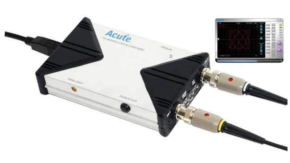 Skalierbares PC-Oszilloskop mit bis zu 16 Bit vertikaler Auflösung und USB-Port