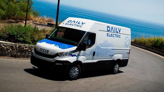 Der neue Iveco Daily Electric mit verbesserter Nutzlast und Reichweite.
