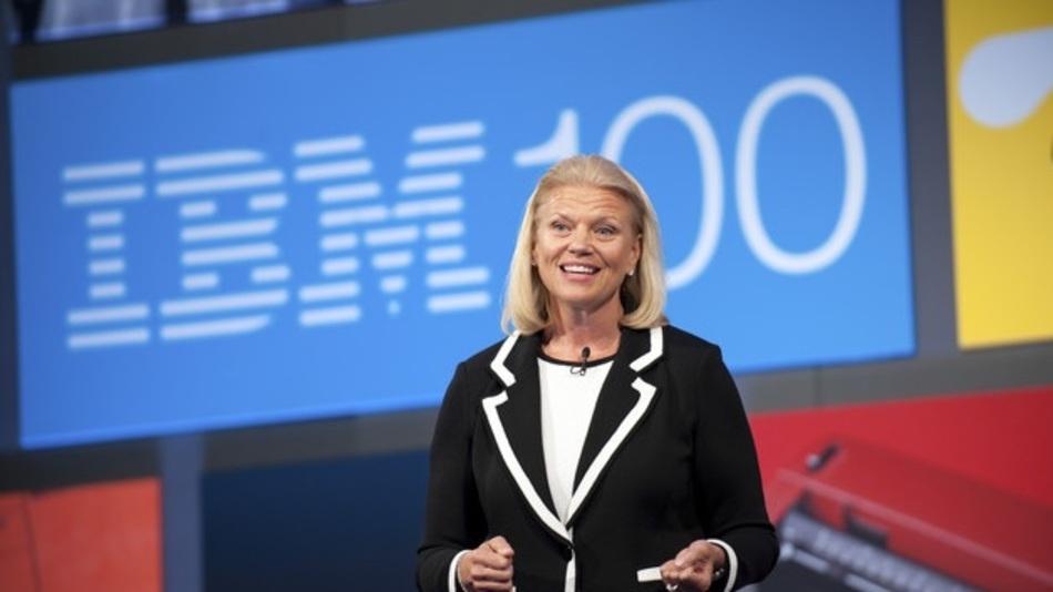 IBM-CEO Ginni Rometty verkaufte letzendlich doch noch die defiztäre Chip-Sparte.