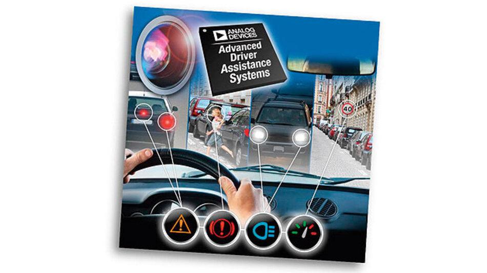 Bild c. Kamera-basiertes Fahrerassistenzsystem.