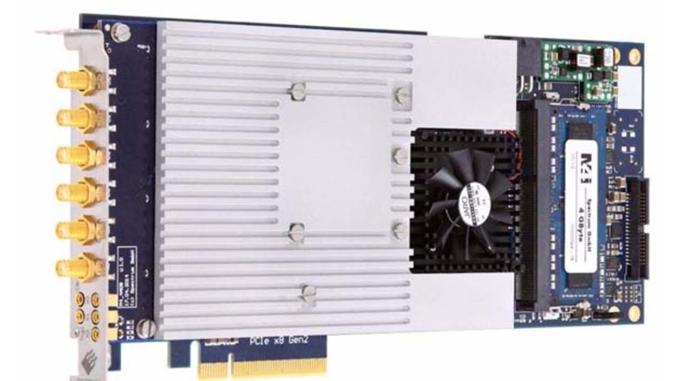 Die neuen Digitizer der M4i-Serie von Spectrum eignen sich für PCIe-Systembus-Konfigurationen, die in der High-Speed-Messtechnik eingesetzt werden.