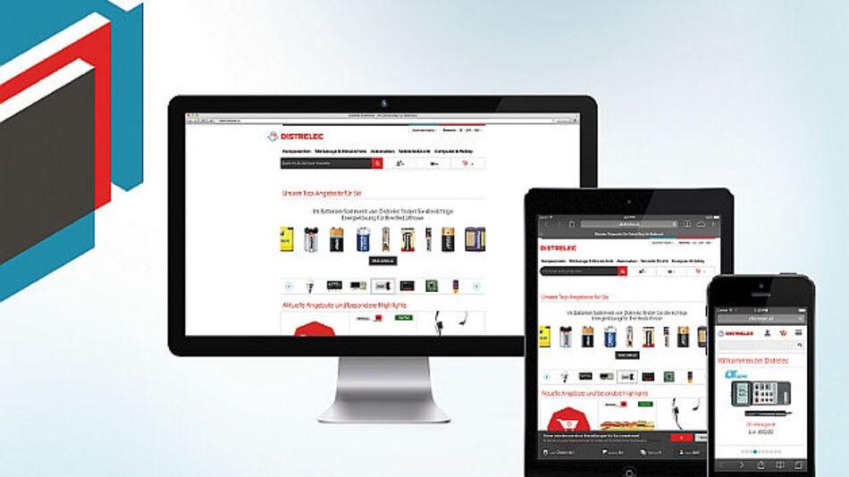 Online-Shop für Profis im neuen Design