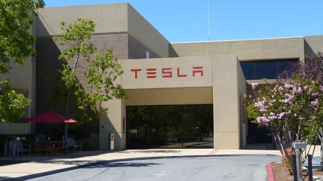 Headquarter von Tesla Motors in Palo Alto.
