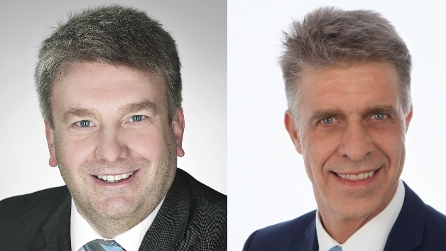 Torsten Ratzmann (links) verlässt Harting, Uwe Gräff (rechts) kommt