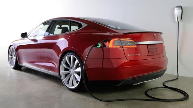 Elektrisch angetriebene Limousine der Premium-Klasse: Tesla Model S.