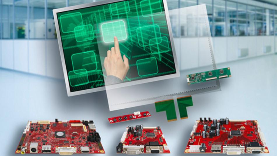 Data Modul zeigt im Bereich Displays Eigenprodukte, kundenspezifische Lösungen und Value-Add.