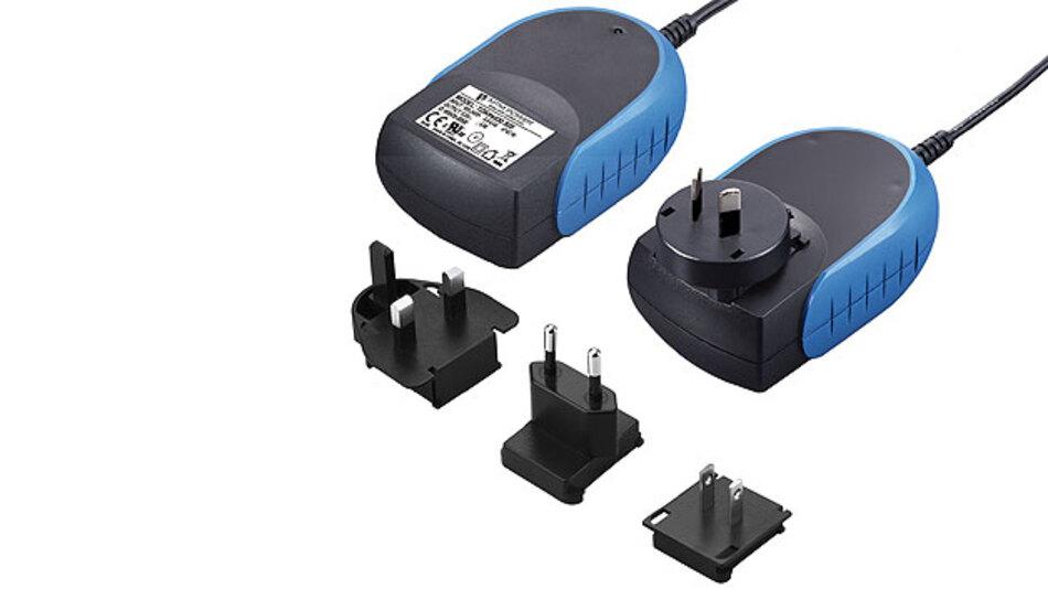 Für medizintechnische Applikationen: Das Steckernetzteil TDAmed von MTM Power.