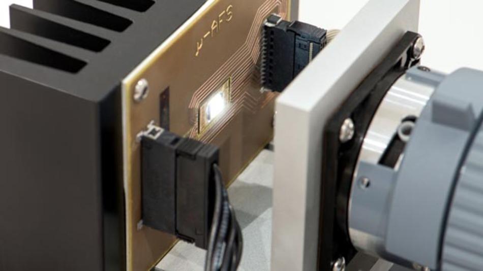 Der Demonstrator der Verbundpartner ist der erste Schritt zu künftig noch intelligenteren LED-Frontscheinwerfern.