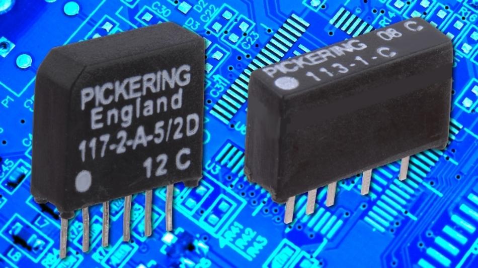 Pickering (Halle A1, Stand 530) zeigt auf der Messe sein Portfolio von Reedrelais in »SoftCenter«-Technik, bei denen ein weiches Innenmaterial zum Einsatz kommt, um den mechanischen Stress der Reedschalter zu minimieren. Darüber hinaus sorgt eine Spule ohne Wickelkörper für hohe Kontaktlebensdauer und zuverlässigen Kontaktwiderstand. Verfügbar sind die besonders kompakten Relais im SMD-Gehäuse, im Single-Inline- (SIL) und Dual-Inline-Gehäuse (DIL) sowie in weiteren gängigen Gehäuseformen. Ein am Stand kostenlos erhältlicher Leitfaden bietet detaillierte Einblicke in die Reedrelais-Technik.