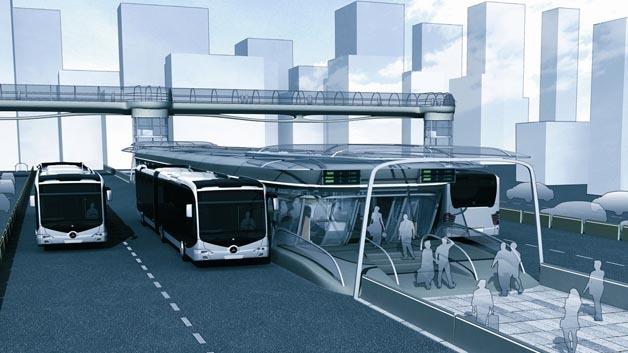 Nachhaltiges Transportkonzept im öffentlichen Nahverkehr für Japan.