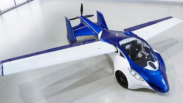 Das fliegende Auto »Aeromobil 3.0«