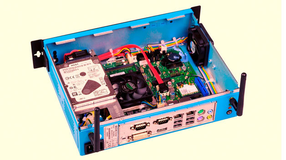 Die FemtoBox von BEG Bürkle ist ein Box-PC mit Prozessor der AMD-G-Serie