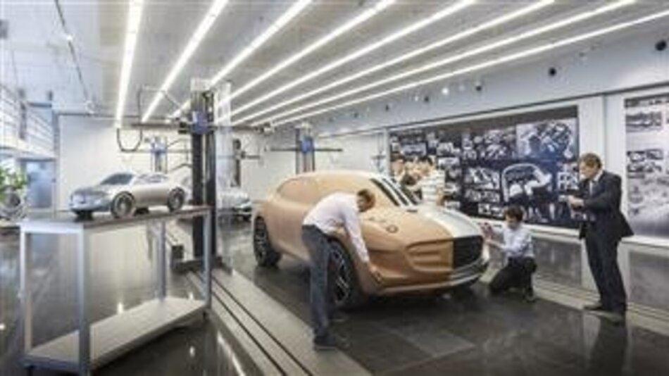 Das Advanced Design Studio ist das Herzstück des R&D-Zentrums von Mercedes-Benz in China.