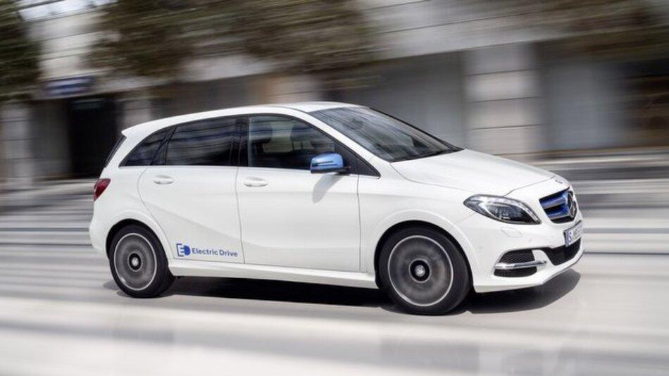 Nun auch in Deutschland bestellbar: die B-Klasse Electric Drive.