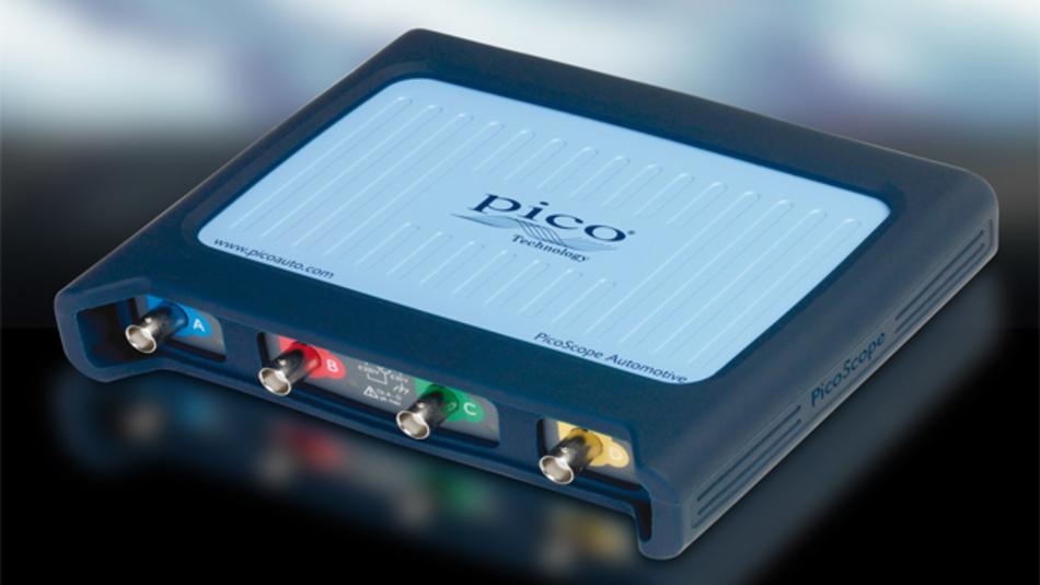 Das neue PicoScope 4425 für den Automobilbereich ist bis zu fünfmal schneller als sein Vorgänger.