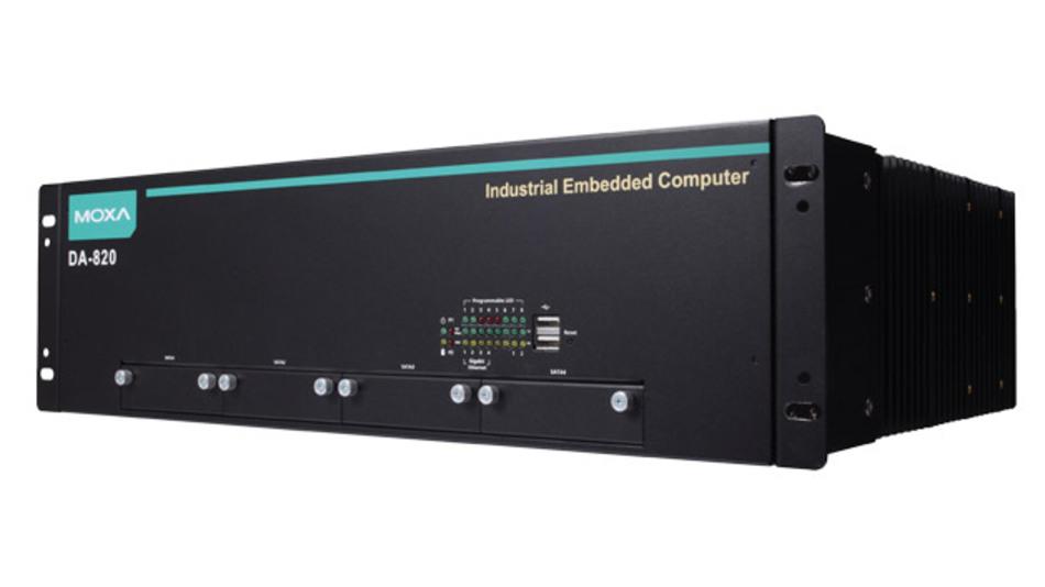 Die Computer der Serie DA-820 von Moxa ermöglichen in Umspannstationen PRP/HSR-Netzwerk-Management mit Visualisierung.