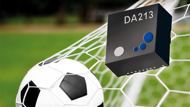 Der Beschleunigungssensor DA213 mit vier wählbaren Messbereichen.
