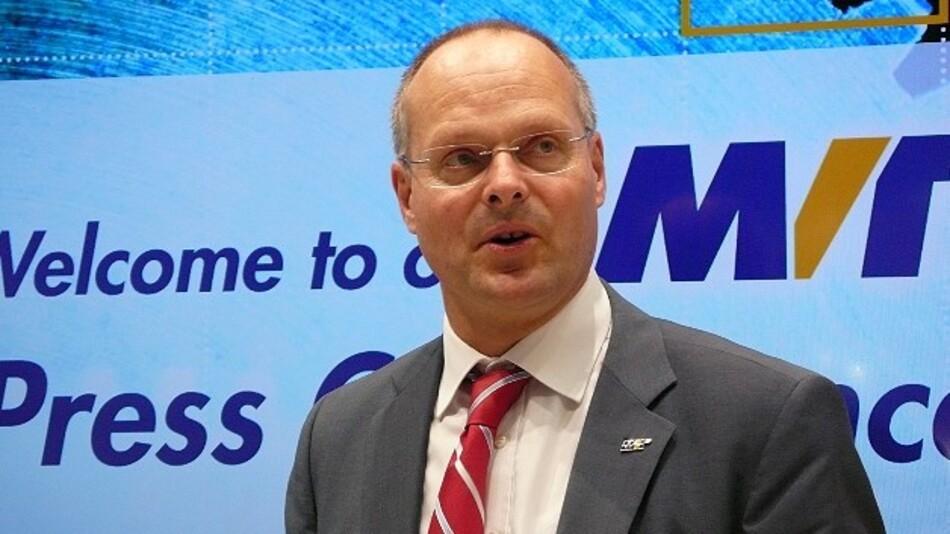 Dr. Olaf Munkelt, VDMA / MVTec Software: »Die Bildverarbeitungsindustrie in Deutschland wird ihren prognostizierten Branchenumsatz von rund 1,8 Mrd. Euro voraussichtlich noch übertreffen.«