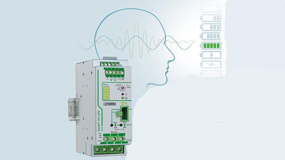 USV-System übersichtlich überwacht von der Konfigurations- und Management-Software