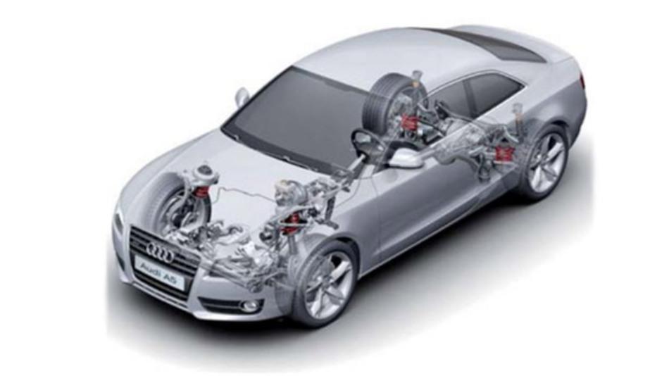 Die Firma EFS aus Ingolstadt entwickelt Fahrwerkelektronik wie Stabilitäts- und Fahrerassistenzsysteme, ausschließlich für den Volkswagenkonzern und Audi.