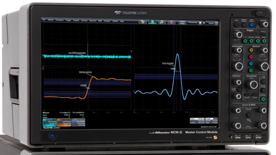 Der neue LabMaster 10-100Zi von Teledyne LeCroy mit 100 GHz-Echtzeit-Bandbreite.