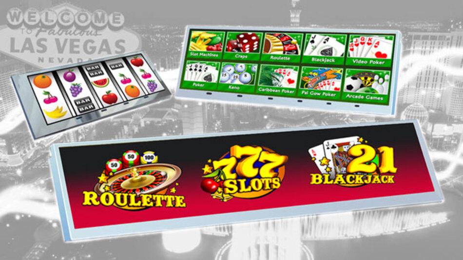 Typische Anwendungen für die TFT-Displays mit überbreitem Seitenverhältnis von KOE  sind neben Glücksspielautomaten unter anderem audiovisuelle und Infotainment-Systeme.