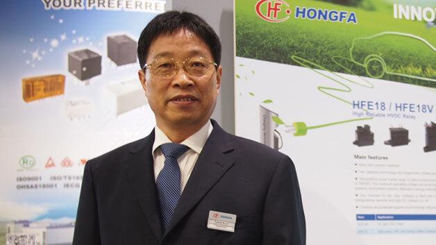 Yueren Ruan, Hongfa: »Von all den großen Relaisherstellern sind wir die einzigen mit klarem Fokus auf Relais - mehr als 85 % des gesamten Umsatzes erzielen wir mit Relais.«