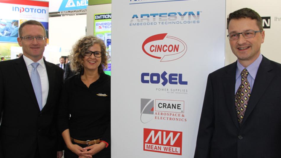 Über mehr als 60 Jahre Erfahrung in allen Fragen rund um die Stromversorgungstechnik bringen Jörg Traum, Sandra Maile und Markus Zemp (v.l.n.r.) in die Leitung der Fortec-Powergruppe ein.