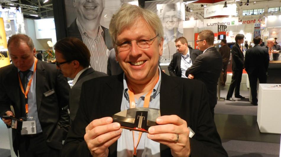 Rob Shaddock, TE connectivity: »Integrierte 3D-Antennen für den Einsatz in Autos reduzieren den Platzbedarf und erhöhen die Flexibilität.«