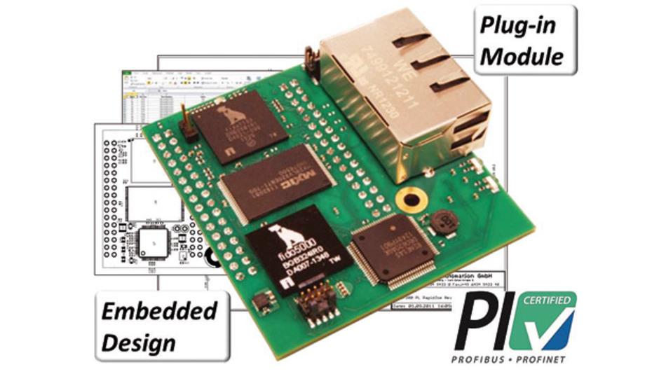 Das RapID Platform Network Interface für Profinet IRT und RT ist entsprechend Profinet V2.3 Class B und C zertifiziert.