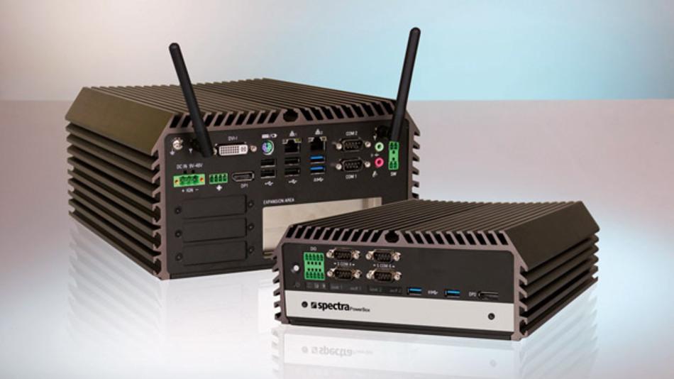 Box-Industrie-PCs »PowerBox 3000« von Spectra